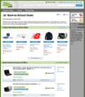 school supplies, laptops, shoes, coupons, deals